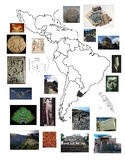 AP Art History Indigenous Map: Mexico & South America