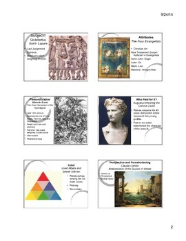 Introduction to Art History Notes