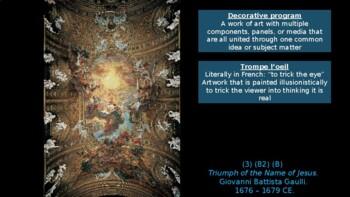 AP Art History Unit 24 - 17th c. Southern Baroque