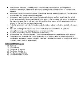 AP Art History Unit 27 (Late 19th century) Study Guide