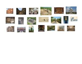AP Art History South, East & Southeast Asia Map