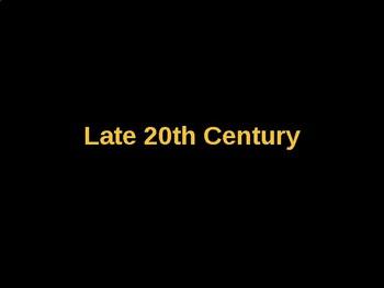 AP Art History Unit 10 Late 20th Century Powerpoint