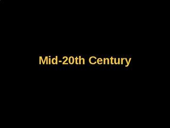 AP Art History Unit 10 Mid-20th Century Powerpoint