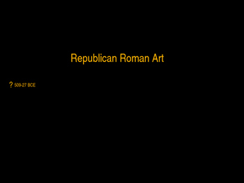 AP Art History Unit 3 Ancient Rome Powerpoint