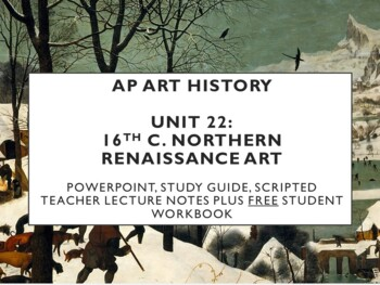 AP Art History Unit 22 (16th c. Northern) Bundle