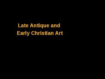 AP Art History Unit 4 Early Christian Powerpoint