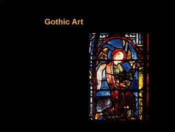 AP Art History Unit 5 Gothic Powerpoint