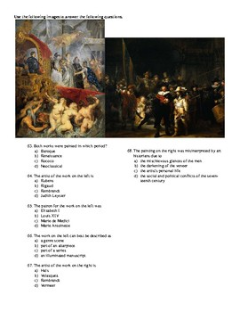 AP Art History Unit 7: 17th-18th Century Europe Test