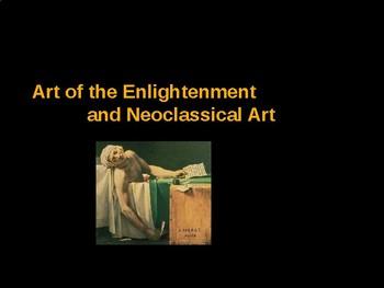 AP Art History Unit 7 Enlightenment & Neoclassical Powerpoint