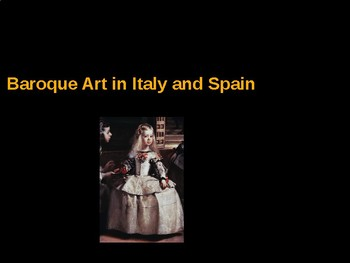 AP Art History Unit 7 Southern Baroque Powerpoint