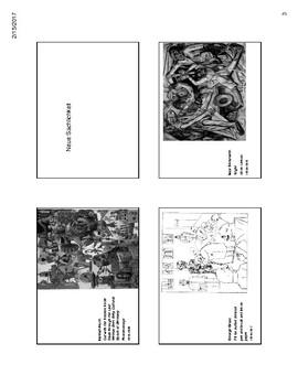 AP Art History Unit 10 20th Century & Contemporary Art