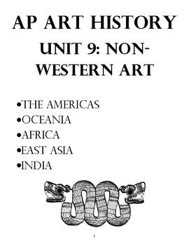 AP Art History Unit 9 Non-Western Art