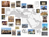 AP Art History West & Central Asia: Islam Map
