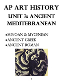 AP Art History Unit 3 Workbook: Ancient Aegean, Ancient Gr