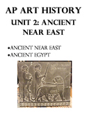 AP Art History Unit 2 Workbook for Ancient near East, Egypt