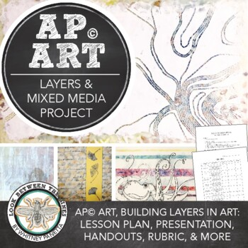 AP Art or Advanced Art: Layers, Mixed Media, & Figure/Ground Relationship