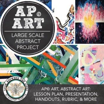 AP Art or Advanced Art: Abstract Acrylic Painting, What Is Abstract?