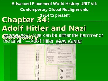 AP Between the Wars: Adolf Hitler and Nazi Germany