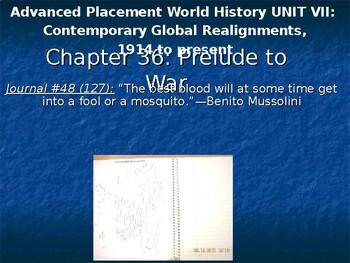 AP Between the Wars: Prelude to War