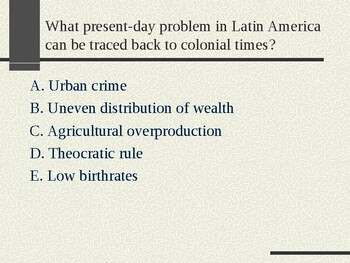 AP Between the Wars: Questions on Nationalism in Asia, Africa, Latin America