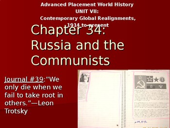 AP Between the Wars: Russia and the Communists