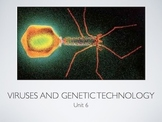 AP Bio Viruses and Genetic Technology (Flipped Classroom)(PowerPoint)