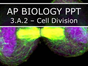 AP Biology (2015) - 3.A.2 - Cell Division PowerPoint