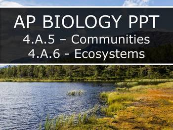 AP Biology (2015) - Unit 4.A - Interactions PowerPoint