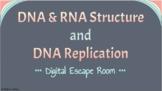 AP Biology 6.1, 6.2 DNA, RNA, & Replication Digital Escape Room