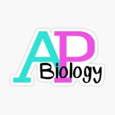 AP Biology: A Year's Worth of Resources!