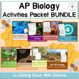 AP Biology Activities Packets- FULL YEAR Bundle- Updated to NEW CED