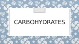 AP Biology Carbohydrates PowerPoint