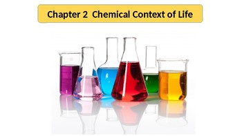 AP Biology Chapter 2 Chemistry - Power Point and Questions