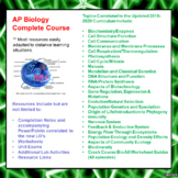 AP Biology Course (updated to the 2019-2020 curriculum) (D