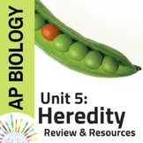AP Biology Complete Review plus Resources for Unit 5: Here