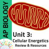 AP Biology Comprehensive Review plus Resources for Unit 3: