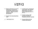 AP Biology Course Plan (PowerPoint)