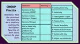 AP Biology Elements of Life Digital Escape Room (CHONP, Mo
