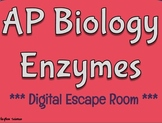 AP Biology Enzymes Digital Escape Room