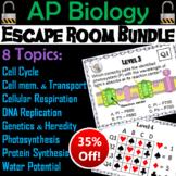 AP Biology Escape Room Science: Genetics, Heredity, Mitosis, Meiosis, Cells, etc