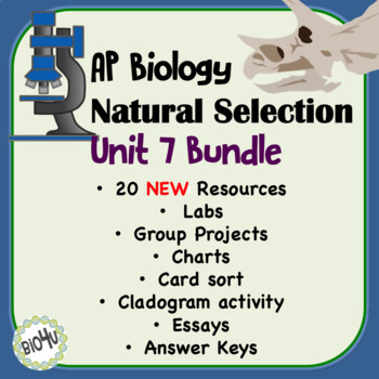 AP Biology Evolution Bundled Unit