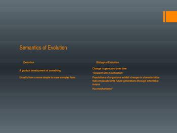 AP Biology Evolution Unit Slides