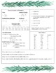 AP Biology Exam Quick Guide (Information Reference Sheets)