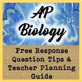 AP Biology Free Response Question (FRQ) Tips & Teacher Pla