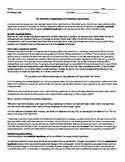 AP Biology: Hypothesis Writing