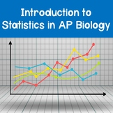 AP Biology Introduction to Statistics PowerPoint