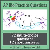 AP Biology Practice Questions Bundle