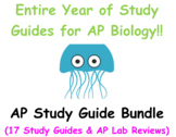 17 AP Biology Review  Guides for the Entire Year!!