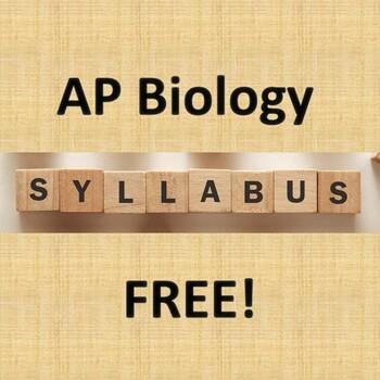 AP Biology Sample Syllabus Template