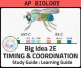 AP Biology Review for Big Idea 2E Timing, Behavior, and Natural Selection
